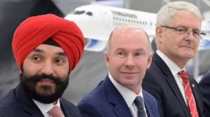 Bombardier under fire for $33M US payout to executives while taking government cash