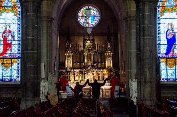 The Chapel of Hope in Saint-Pierre-Apôtre church