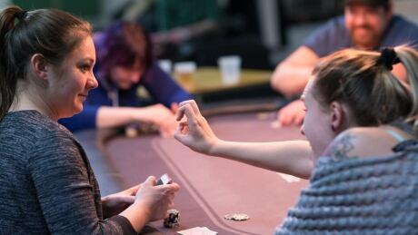 Poker night at Centre des Loisirs des Sourds