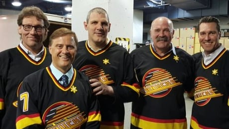 Gino Odjick was supposed to be dead but instead he's hosting a film about NHL tough guys