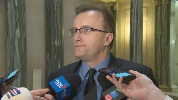 Health Minister Jim Reiter says the severance packages were offered to all current health region CEOs and vice-presidents but only seven took the offer.