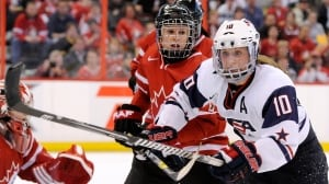 Canadians glad U.S. at women's hockey championship — so they can take their title