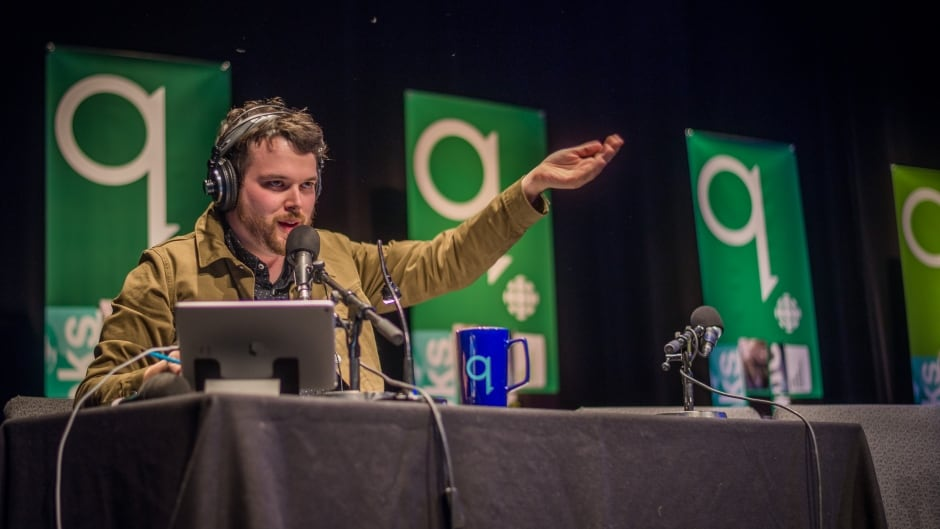 Tom Power hosting a live show in Ottawa on Thursday, March 30, 2017.