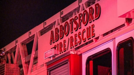 Man dies after trailer fire at Abbotsford, B.C. business