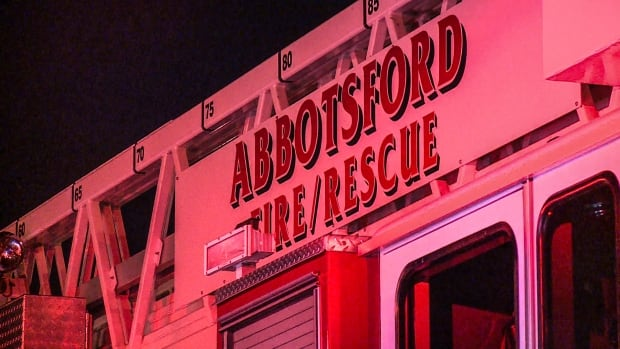 The Abbotsford Fire Rescue Service was called to a trailer fire on Sunday. A man was found inside with severe burns and later died in hospital.