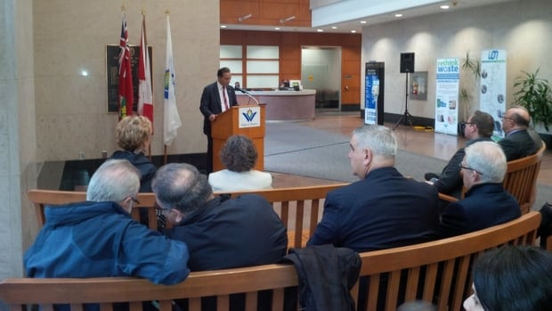 Kitchener Centre MP Raj Saini announced $752 million in federal funding for the Toronto-Waterloo innovation corridor.