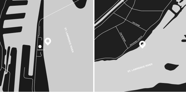 Montreal surf map