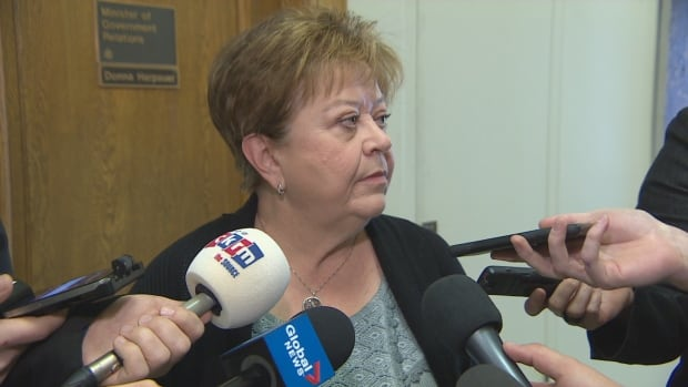 Government Relations Minister Donna Harpauer says the government was clear that municipalities could expect cuts.