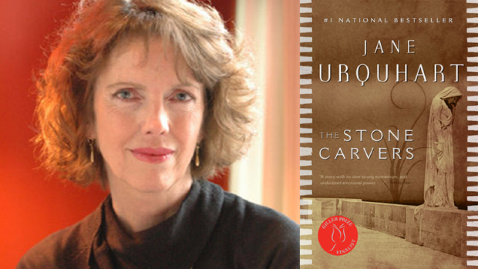 Jane Urquhart's World War One love story, The Stone Carvers, was nominated for the Scotiabank Giller Prize, Man Booker Prize and and Governor General's Literary Award for Fiction in 2001.