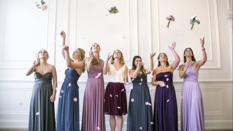 Not just for tuxedos anymore: Bridesmaid dress rentals now available ...