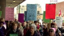 STC Saskatoon rally