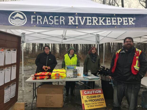 Fraser River Keeper Volunteers Fraser River Clean-Up