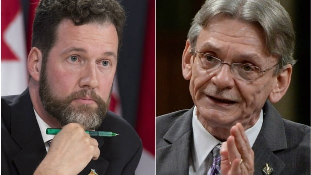 Conservative MP Scott Reid, left, and NDP MP David Christopherson say they are prepared to keep filibustering the procedure and House affairs committee until the Liberal government drops its plans to reform how the House of Commons works.