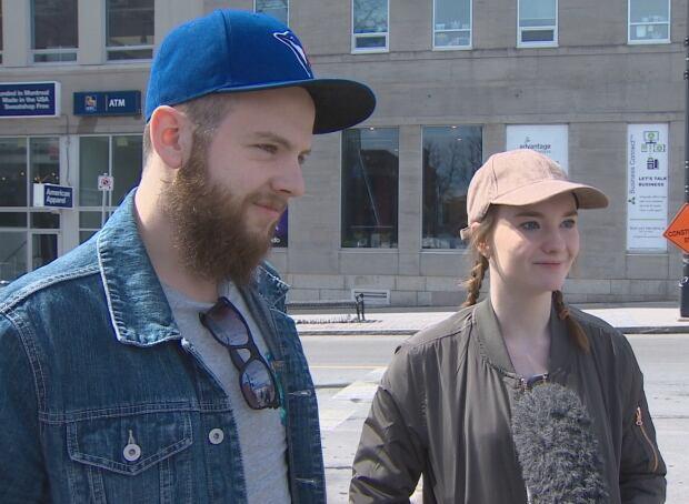 Keegan O'Shea and Brittany Matchett