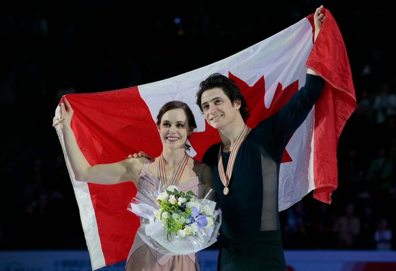 Madison : Tessa virtue andrew poje tumblr