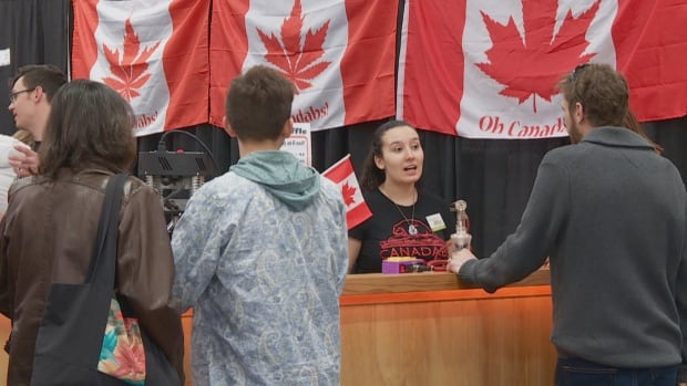 Edmonton's Expo Centre hosted a two-day show about marijuana, in preparation for its legalization in Canada.