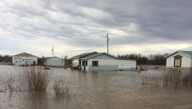 Peguis 2017 flooding