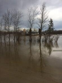 Peguis flooding 2017