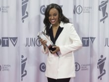 Ruth B received three 2017 Juno Award nominations, winning Breakthrough Artist of the Year.