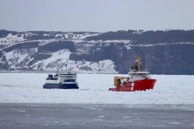Beaumon Hamel ferry coast guard ship bell island