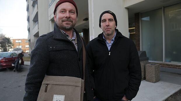 Christian Kraeker and Tim O'Shea