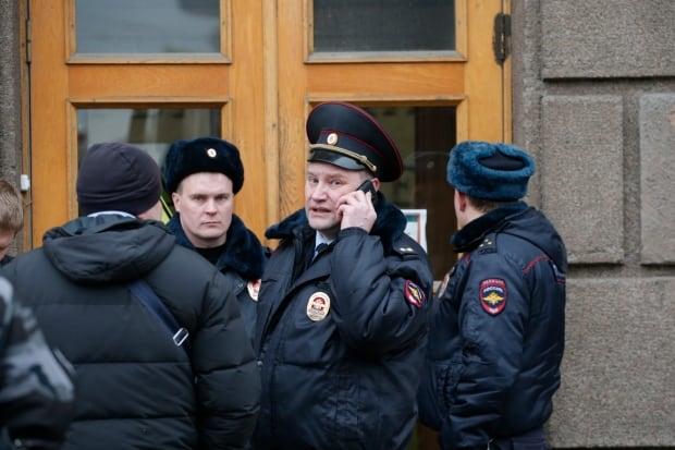 RUSSIA SAINT PETERSBURG METRO EXPLOSION