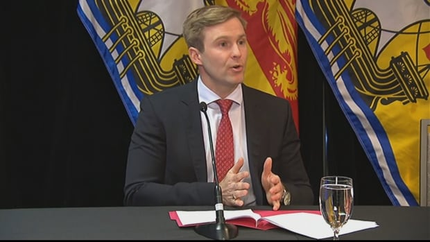 Premier Brian Gallant apologized for the property assessment problems at a news conference on Monday.