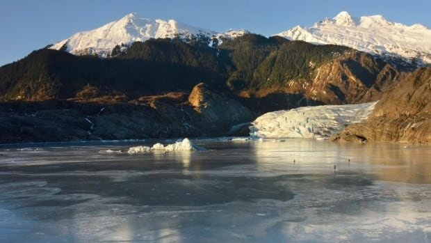 The Mendenhall glacier near Juneau, Alaska, in 2015. Over the past decade or so, scientists and photographers keep returning to the world's glaciers, watching them shrink with each visit. Now they want other people to see what haunts them in a series of before and after photos.