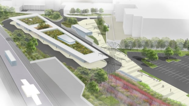 A Metrolinx rendering shows what the Kipling station mobility hub is expected to look like. The redevelopment of the station is expected to be complete by the end of 2019.