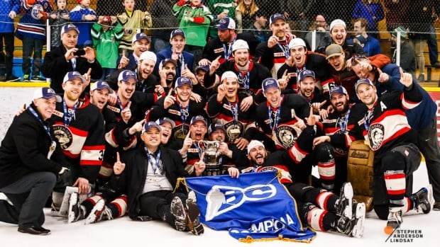 'I was extemely relieved. We put a lot into it,' said head coach Mike Tuton after the Whitehorse Huskies won the 2017 Coy Cup, in front of a hometown crowd on Saturday night.