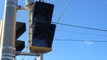 power outage nova scotia power Traffic lights out Halifax