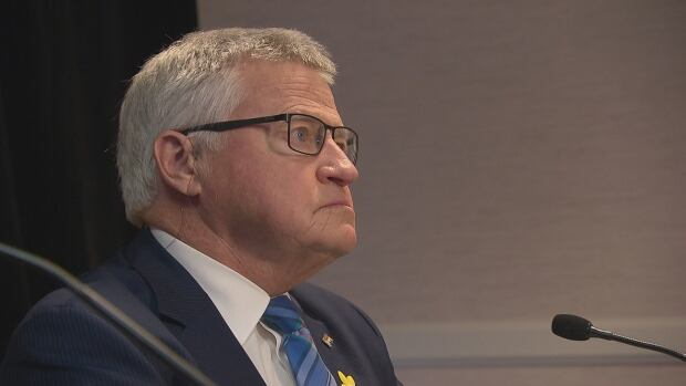 Service New Brunswick Minister Ed Doherty