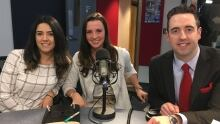 Hayley Crichton, Pegah Memarpour and Andrew Parsons