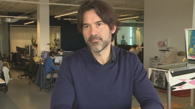 Pascal Pilon's AI company Landr currently employs about 70 people in Montreal.