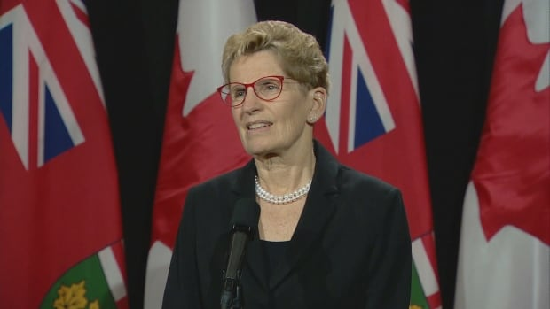 Premier Kathleen Wynne says provincial and city officials are working on what a hotel and short-term rental tax would look like.