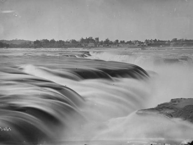Chaudiere falls ottawa circa 1880