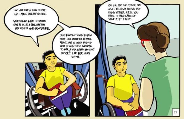 Wheelchair Man 3