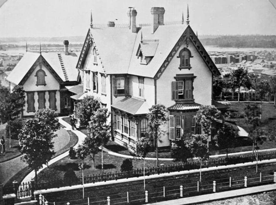 Ottawa home of Henry Franklin Bronson 1882