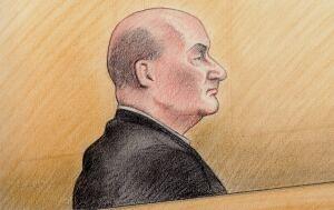 Ian Bush Court Sketch