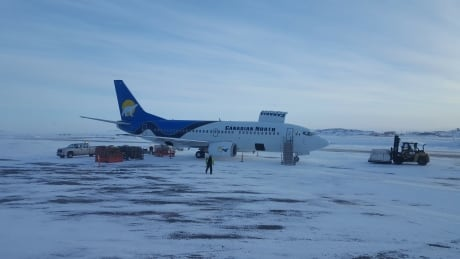 Canadian North airplane