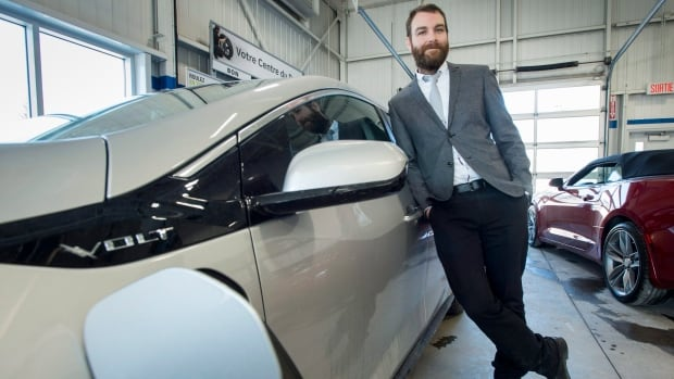 Hugo Jeanson, co-owner of Bourgeois Chevrolet in Rawdon, Que., has helped make the Lanaudière region the electric car capital of Canada.