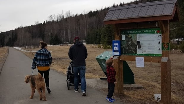 A bus maintenance site could be built near a popular walking trail on the corner of 18th Avenue and Foothills Boulevard in Prince George. Opponents say fumes and noise will spoil the area's appeal.