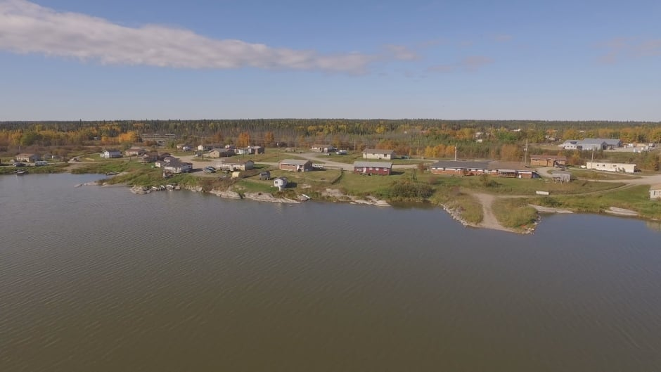 Cross Lake aerial