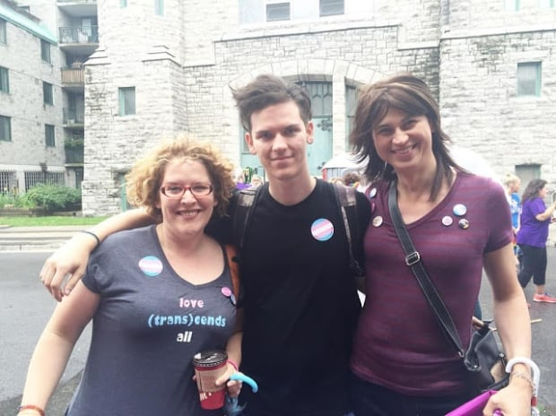 The Knox family at Pride