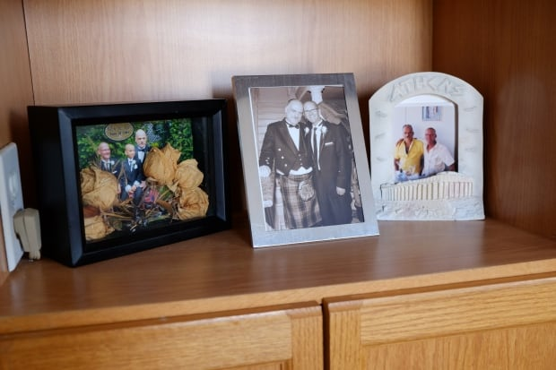 John MacTavish and Rob Rollins wedding photos