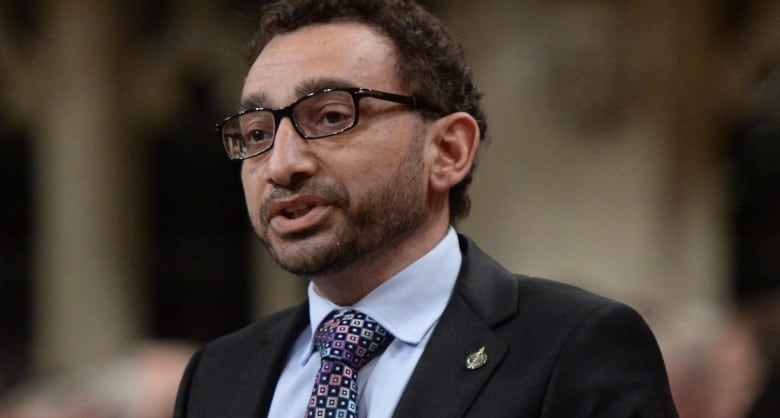 Omar Alghabra, Canada's parliamentary secretary for ...