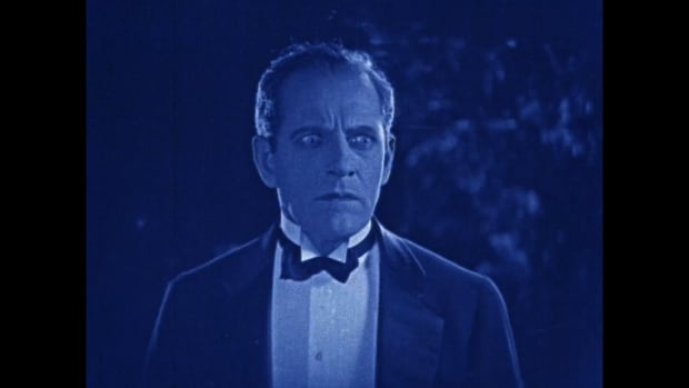 A still from the 1924 silent film Secrets of the Night, directed by Herbert Blanche.