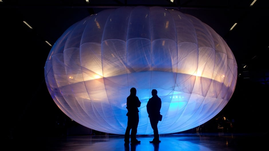 In 2013, Google revealed plans to send balloons like this one to the edge of space with the lofty aim of bringing the internet to the two-thirds of the global population currently without access.