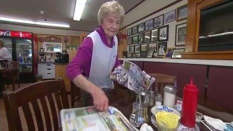Barb Barkhouse working seniors