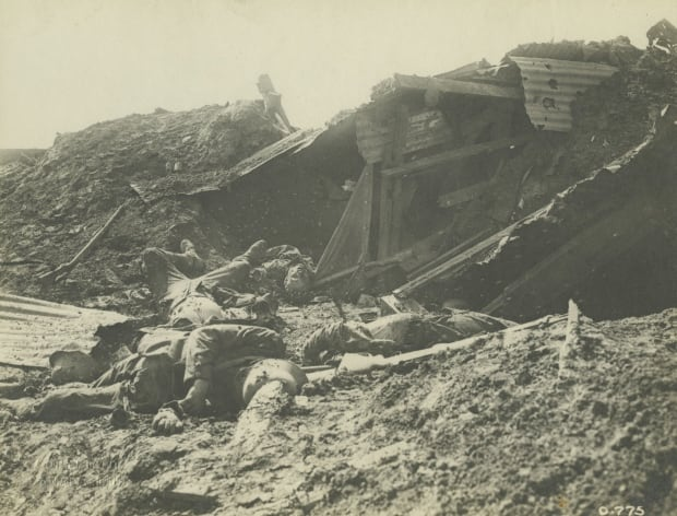 German dead at Vimy